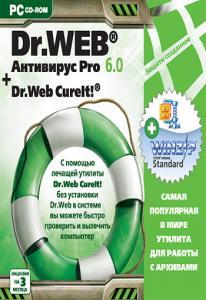 Dr.Web Антивирус Pro 6.0   Dr.Web CureIT (PC CD)