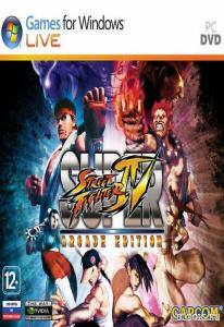 Super Street Fighter IV Arcade (PC DVD)