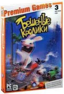 Premium Games 3 культовые игры Rayman Бешеные кролики / Rayman Бешеные кролики 2 / Бешеные Кролики Go Home (2 DVD) (DVD-BOX)
