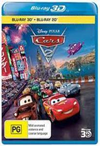 Тачки 2 3D 2D (Blu-ray 50GB)