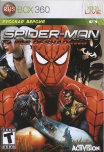 Spiderman Web of Shadows (Xbox 360)