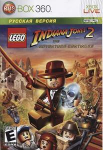 Lego Indiana Jones 2 Adventure Continues (Xbox 360)