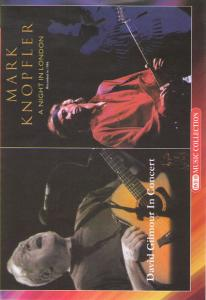 David Gilmour In concert / Mark Knopfler A night in London