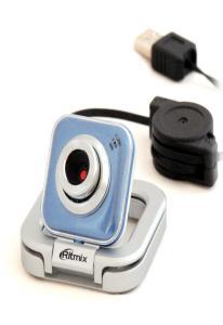 Веб-камера RITMIX RVC-025M 1,3МП Синяя