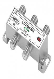 (499-204-1) разветвитель (краб)  LUXMANN 4ТВ мет 5F