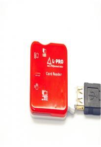 Card reader  L-PRO 1140 All-IN-1 Все виды карт Красный