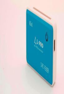 Card reader  L-PRO 1142 All-IN-1 Все виды карт Голубой