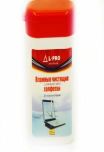 1202 L-Pro - влажные салфетки д/ноубуков (100 шт)