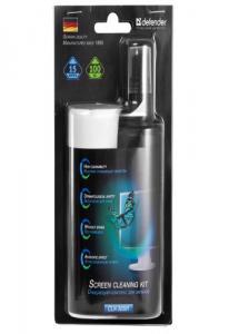 Набор чистящих средств  для ЖК мониторов Эко Defender №30591 спрей 100мл салфетки 15 шт.
