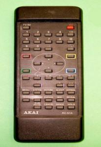 Пульт ДУ AKAI RC-N1A/N2A TV/VCR