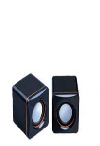 Колонки L-PRO E-001 / 1187,  2.0, черные, питание от USB