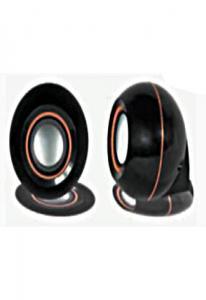 Колонки L-PRO E-006 / 1186,  2.0, черные, питание от USB