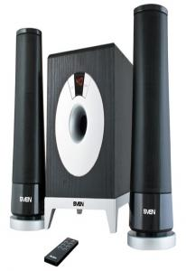 Колонки Sven MS-106  2,1( 5,0 Вт 2х2,5Вт) черные