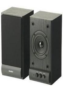 Колонки Sven SPS-607 2,0 2х3 Вт черные