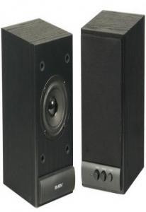 Колонки Sven SPS-609 комплект 2.0, 2х5 Вт(RMS), черный