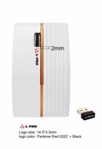 L-PRO Беспроводная мышь  315/1265 usb, white