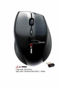 L-PRO Беспроводная мышь  601/1258 usb, black