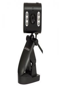 Вэб-камера A4-PK-333Е, USB 1.1, ночное вид,640x480,  крепл для ноутбука LCD, черная