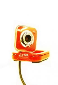 Веб-камера  L-PRO 917/1402 микрофон, до 16МР red
