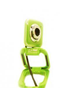 Веб-камера  L-PRO 917/1403 микрофон, до 16МР green