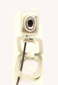 Веб-камера  L-PRO 917/1404 микрофон, до 16МР silver