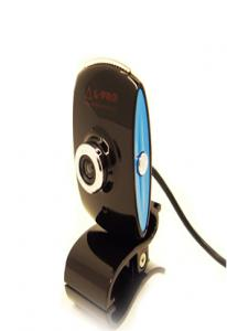 Веб-камера  L-PRO 922/1400микрофон до 16МР  black blue
