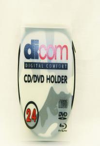 Портмоне Dicom E12-24 EVA на 24CD  124