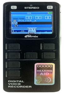 Диктофон RITMIX RR-970 2GB Black