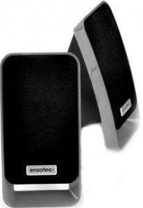 Колонки Enzatec SP307SL сербро/серый, настольные, 2*2.5W, USB/3,5мм джек