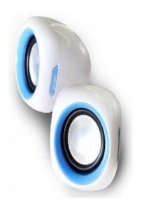 Колонки Enzatec SP313BL синие, USB