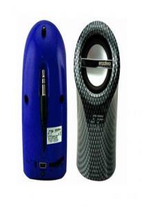 Спикер Enzatec SP102BL синий, настольный, 2,5W, USB/3.5мм джек, аккум