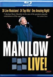 Barry Manilow Manilow Live (Blu-ray)