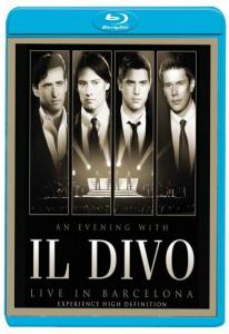 Il Divo An Evening With Il Divo Live In Barcelona (Blu-ray)