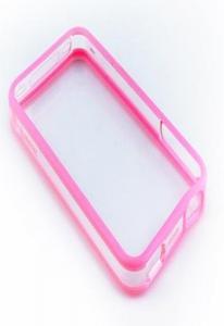 Бампер Griffin Reveal Frame для iPhone 4 Pink Уценка