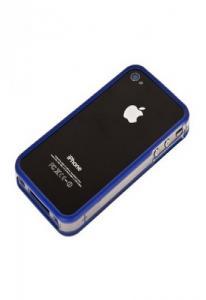 Бампер Griffin Reveal Frame для iPhone 4 Синий Уценка