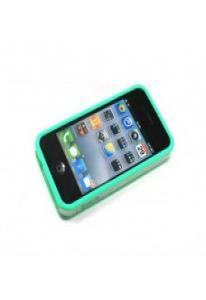 Бампер Griffin Reveal Frame для iPhone 4 Зеленый  Уценка