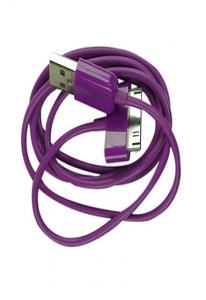 Зарядное устройство для iPhone/ iPod/iPad Фиолетовое Уценка
