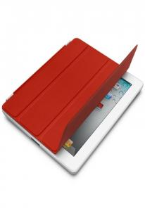 Чехол Smart Cover для iPad / iPad 2 / iPad 3 Красный Уценка