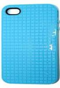 Чехол Speck PixelSkin для iPhone 5 Голубой Уценка