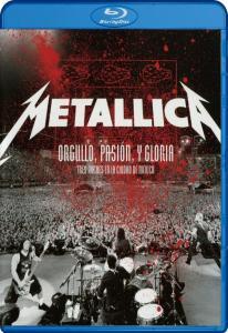 Metallica Orgullo Pasion y Gloria Tres Noches En La Ciudad de Mexico (Blu-ray)