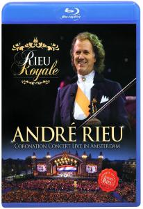 Andre Rieu Coronation Concert Live in Amsterdam (Blu-ray)