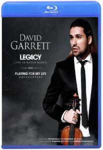 David Garrett Legacy Live in Baden Baden (Blu-ray)