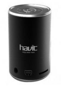 Колонка - плеер портативный HAVIT HV-SKC413M USB с динамиком и FM приемником black