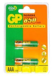 Аккум. GP  R-03 850 mA  2шт
