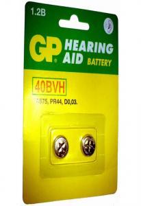 Аккум. GP 40BVH-CR2 2бл для слуховых аппаратов