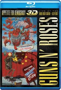 Guns N Roses Appetite for Democracy  Live at the Hard Rock Casino Las Vegas 3D 2D (Blu-ray 50GB)