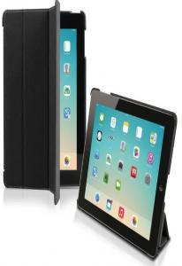 Чехол книжка Denim для iPad Air (складной фронт, темно серый)