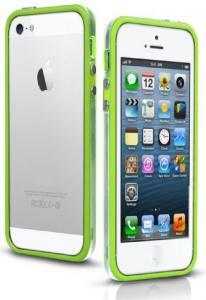 Бампер для iPhone 5 зеленый