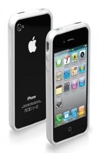Бампер для iPhone 4/4S белый