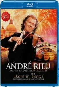 Andre Rieu and his Johann Strauss Orchestra Love In Venice (Blu-ray)